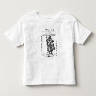 Frontispiece to 'The Roaring Girle' Toddler T-shirt