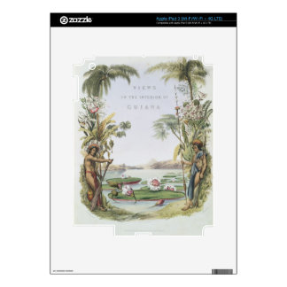 Frontispiece to Views in the Interior of Guiana iPad 3 Skin