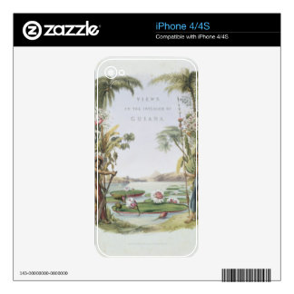 Frontispiece to 'Views in the Interior of Guiana', Skins For The iPhone 4