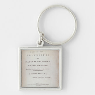 Frontispiece to Volume I Key Chain