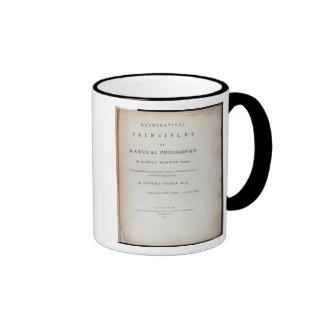 Frontispiece to Volume I Ringer Coffee Mug