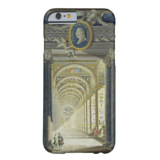 Frontispiece with a medallion portrait of Raphael Barely There iPhone 6 Case