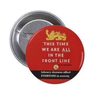 Frontline badge pinback buttons