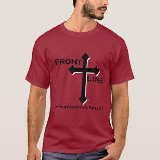 Frontline T-Shirt (Maroon)