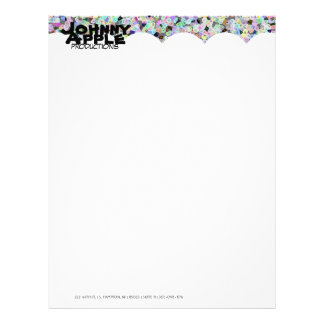Frooty Faces Letterhead