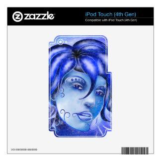 Frosinissia V1 - frozen face iPod Touch 4G Skins