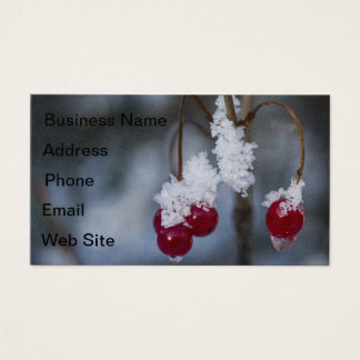 Frost Berries Business Card