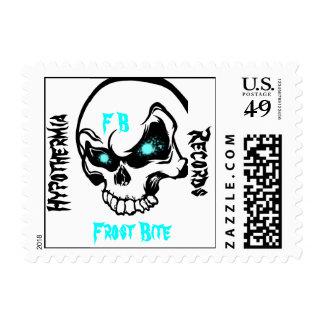 Frost Bite Postage Stamp