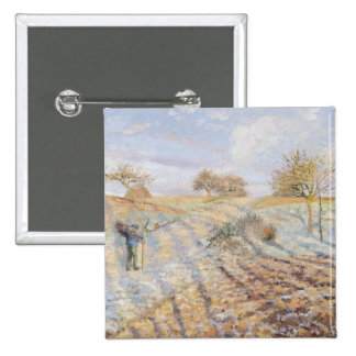Frost blanco, 1873 pin cuadrada 5 cm