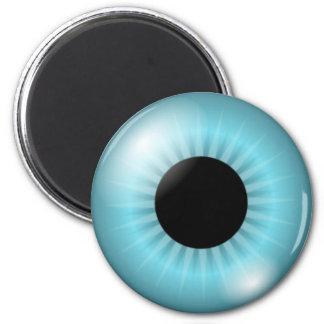 Frost Blue Eye Fridge Magnets