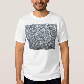 frost closeup on car window tee shirts