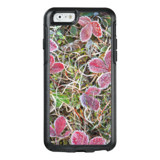 Frost covered leaves, Canada OtterBox iPhone 6/6s Case