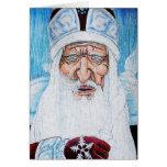 Frost de abuelo tarjeta de felicitación