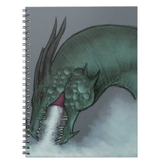 Frost Dragon Notebooks