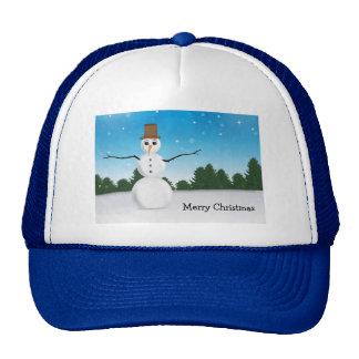 Frost E. Snowman Gorros Bordados
