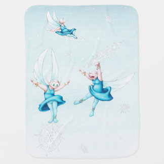 FROST FAIRIES SWADDLE BLANKET