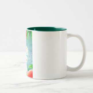 Frost Fairy in the Peach Orchard Coffee Mug