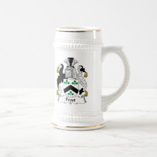 Frost Family Crest Beer Stein