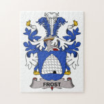 Frost Family Crest Jigsaw Puzzles