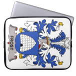 Frost Family Crest Laptop Computer Sleeves