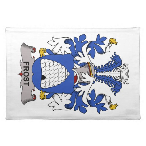 Frost Family Crest Placemats