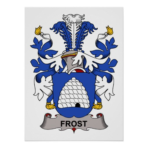Frost Family Crest Posters