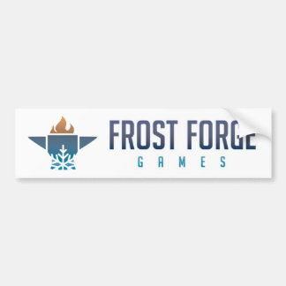 Frost Forge Games Bumper Sticker