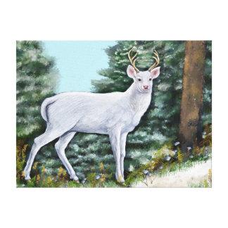 Frost Hart Canvas Print