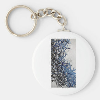 Frost Lined Intensions Keychain
