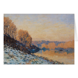 Frost Puerto-Margoso, blanco, 1872 Tarjeta De Felicitación