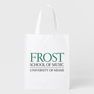 Frost School of Music Logo 2 Reusable Grocery Bag