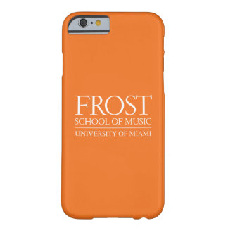 Frost School of Music Logo Barely There iPhone 6 Case