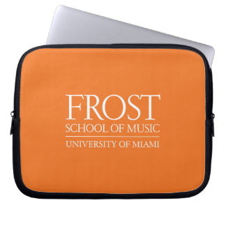 Frost School of Music Logo Computer Sleeve