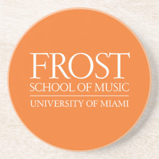Frost School of Music Logo Drink Coaster