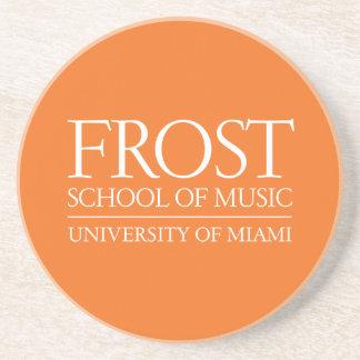 Frost School of Music Logo Drink Coaster