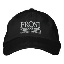 Frost School of Music Logo Embroidered Baseball Cap