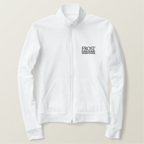 Frost School of Music Logo Embroidered Jacket