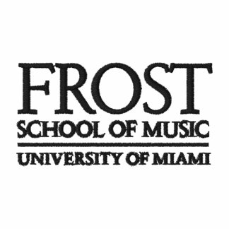Frost School of Music Logo Embroidered Polo Shirts