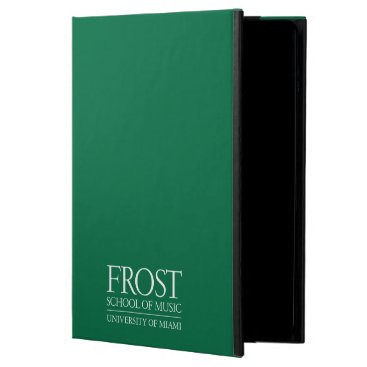 Beach Themed Frost School of Music Logo iPad Air Cover