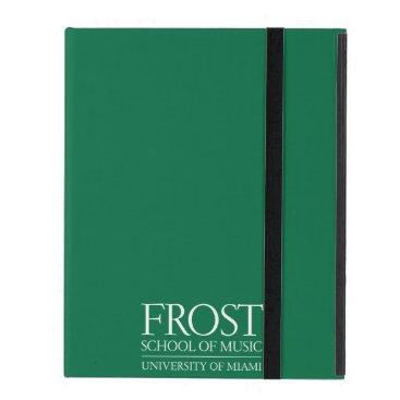 Beach Themed Frost School of Music Logo iPad Case