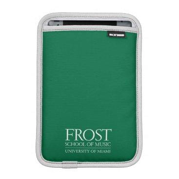 Beach Themed Frost School of Music Logo iPad Mini Sleeve
