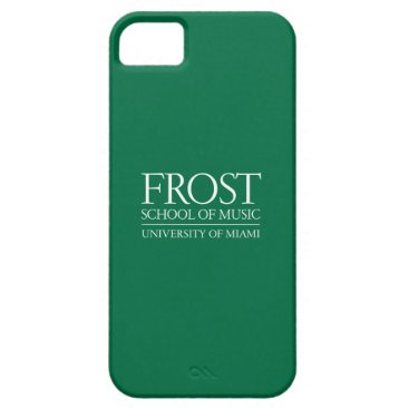 Beach Themed Frost School of Music Logo iPhone SE/5/5s Case