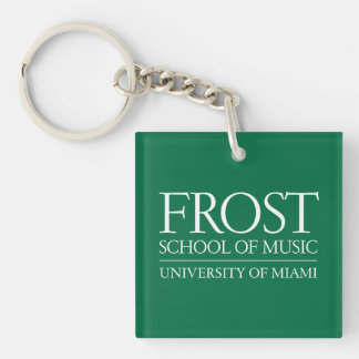 Frost School of Music Logo Keychain