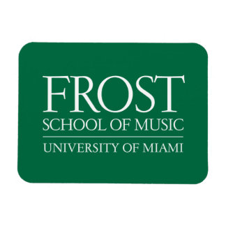 Frost School of Music Logo Magnet