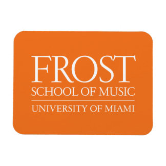 Frost School of Music Logo Magnet