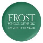 Frost School of Music Logo Melamine Plate