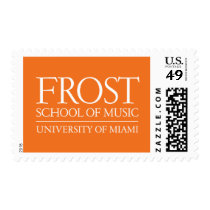 Frost School of Music Logo Postage
