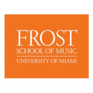 Frost School of Music Logo Postcard