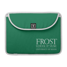 Frost School Of Music Logo Sleeve For Macbook Pro at Zazzle