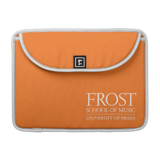 Frost School of Music Logo Sleeve For MacBook Pro